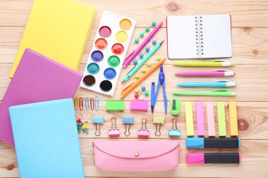 School supplies set