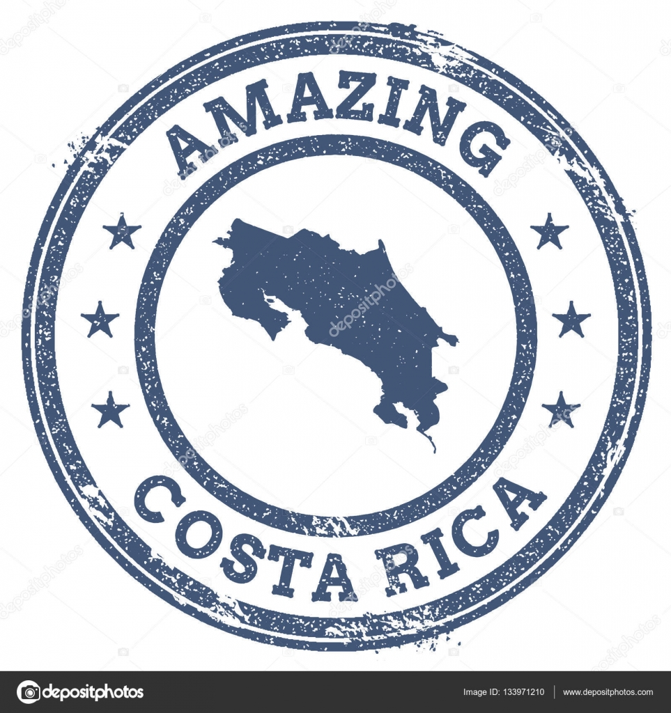 Vintage amazing costa rica travel stamp with map outline stock vintage amazing costa rica travel stamp with map outline stock vector biocorpaavc Gallery