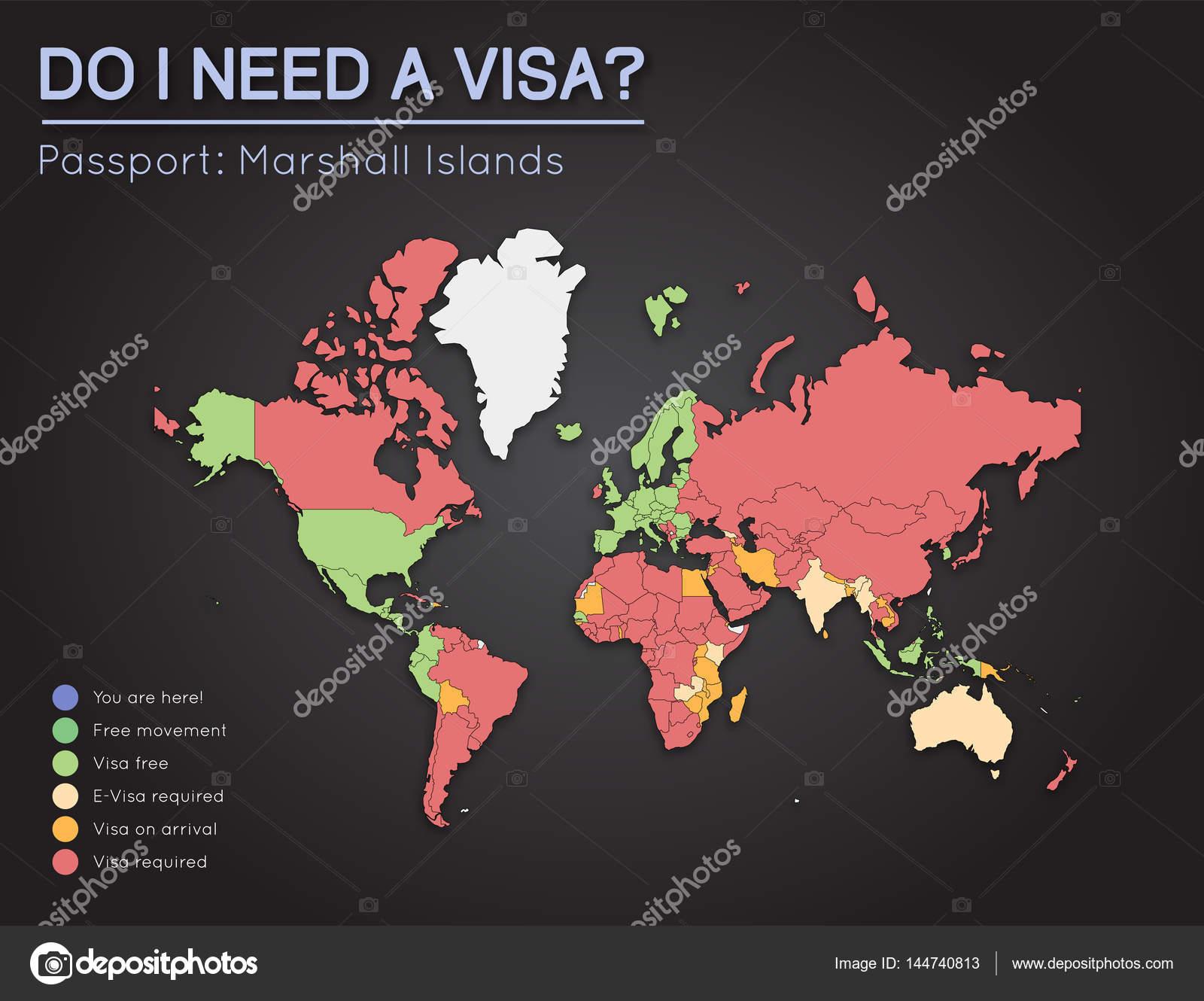 Visas information for Republic of the Marshall Islands passport ...