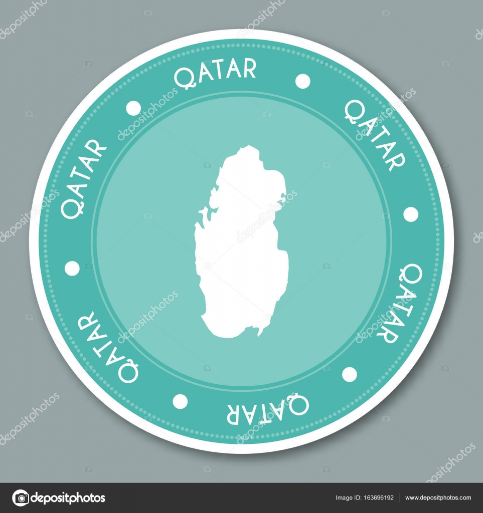 Qatar Country Map on