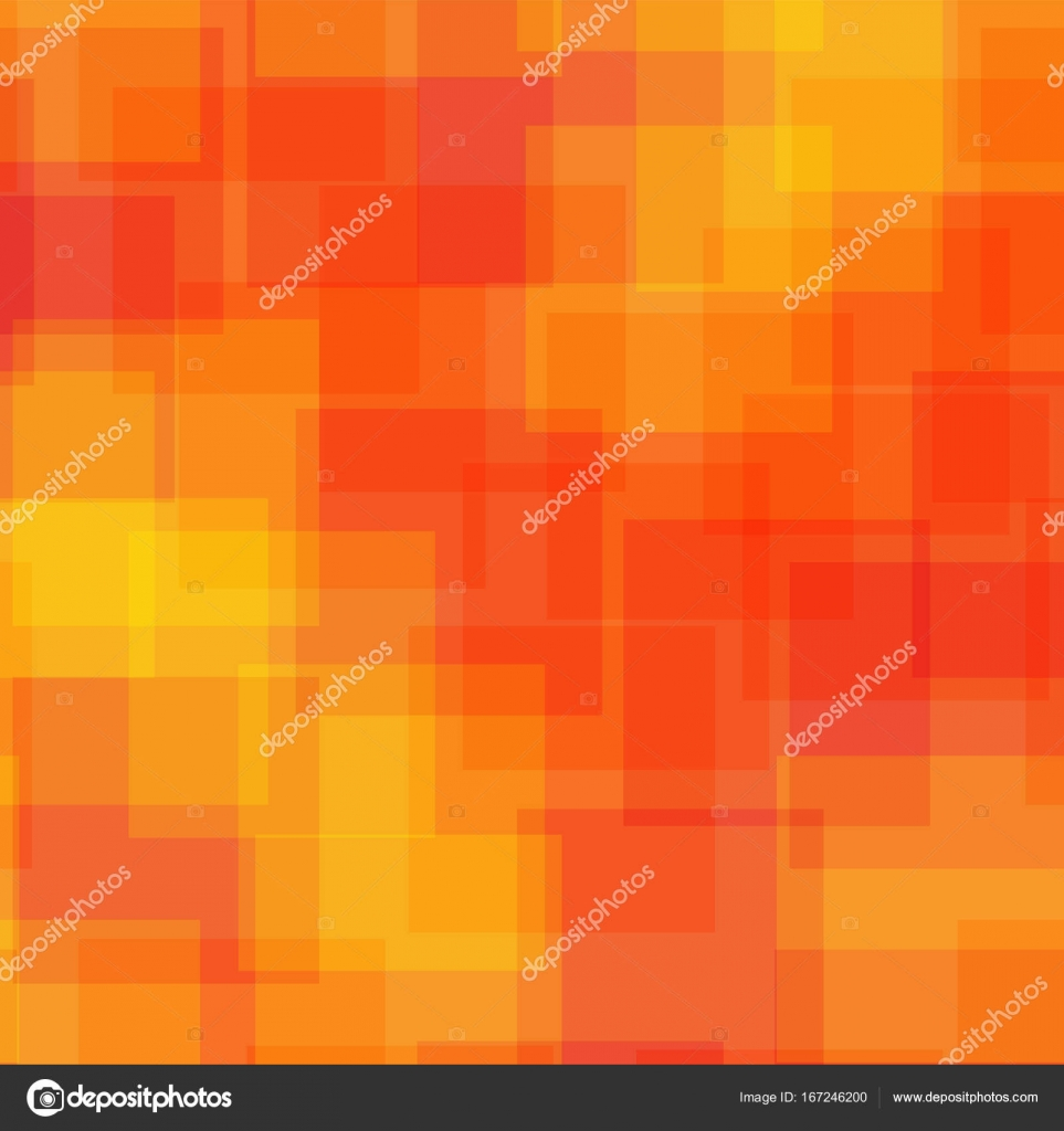 Resumen plazas patrón naranja fondo geométrico Ideal al azar plazas ...