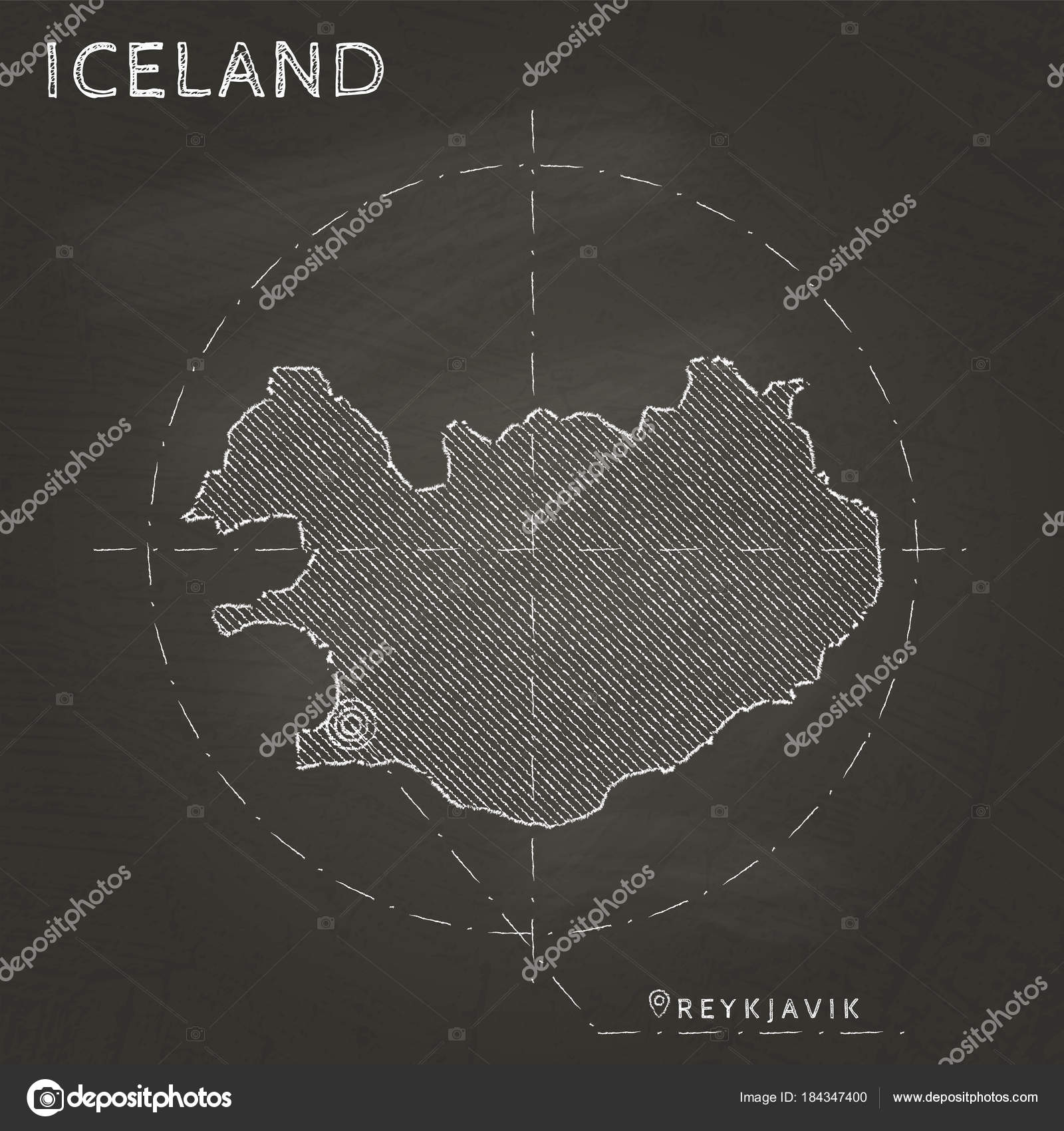 Iceland chalk map with capital marked hand drawn on textured ... on sri lanka world map, germany world map, indonesia world map, guam world map, panama world map, lesotho world map, western samoa world map, austria world map, scotland world map, haiti world map, norway world map, ireland world map, south korea world map, india world map, ceylon world map, cape verde world map, british isles world map, japan world map, antartica world map, kazakhstan world map,