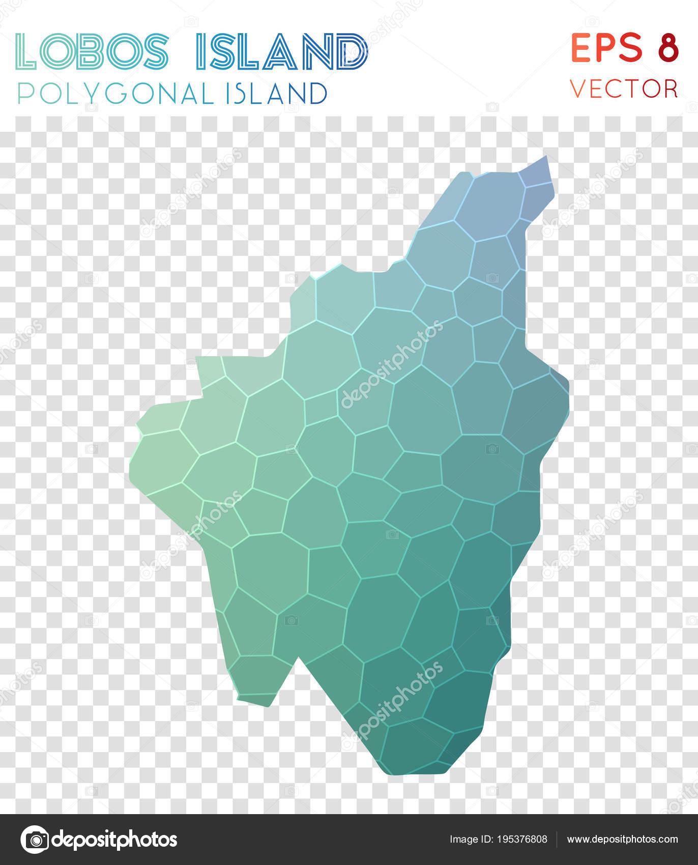 Isla De Lobos Mapa.Isla De Isla De Lobos Mapa Poligonal Mosaico Estilo Diseno