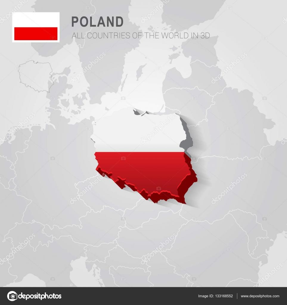 Polonia y los países vecinos  Mapa administrativo de Europa