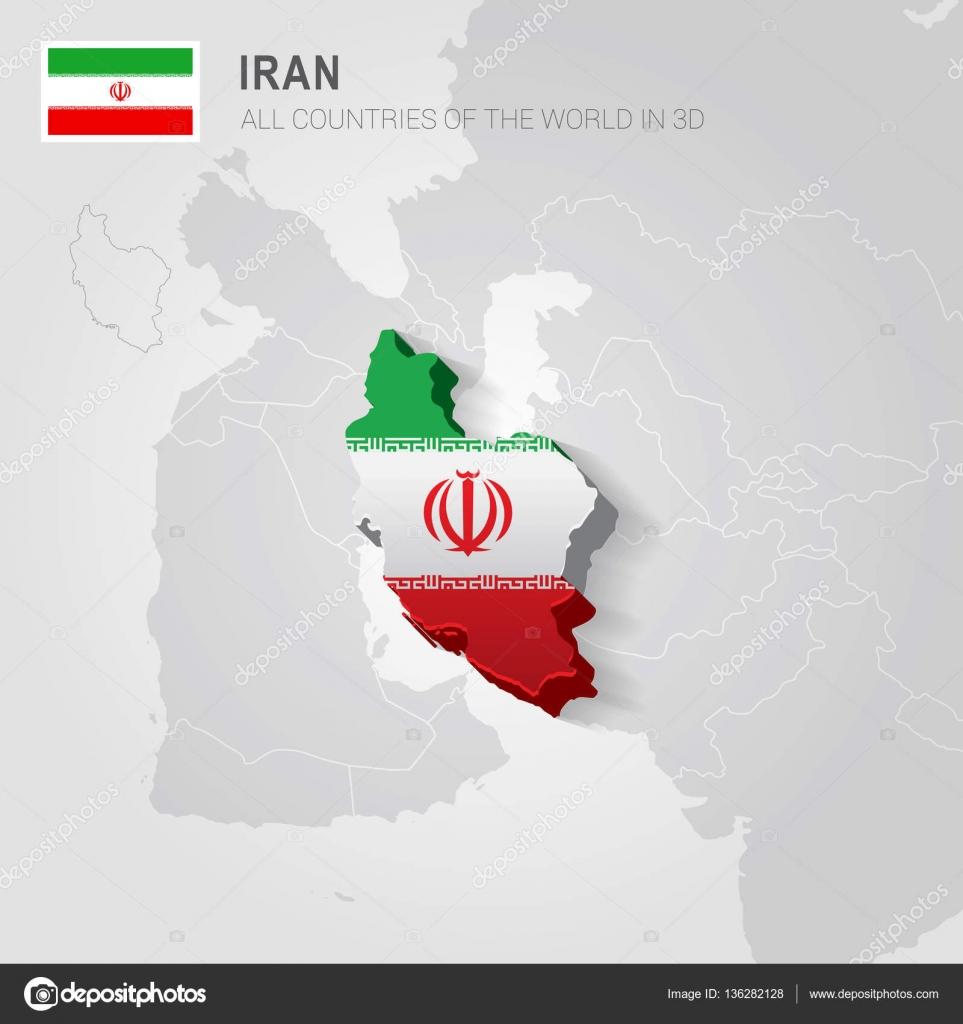Iran and neighboring countries asia administrative map stock iran and neighboring countries asia administrative map stock vector gumiabroncs Gallery