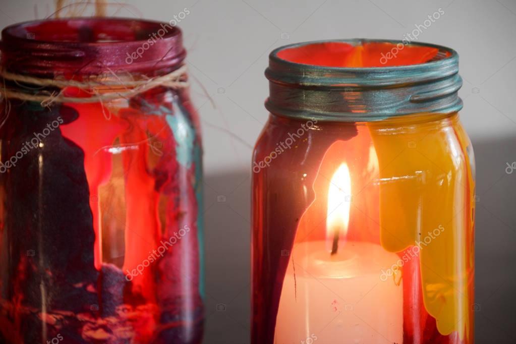 Lampade In Vetro Colorate : Lampada a sospensione tonda sferica in ferro e vetro colorato