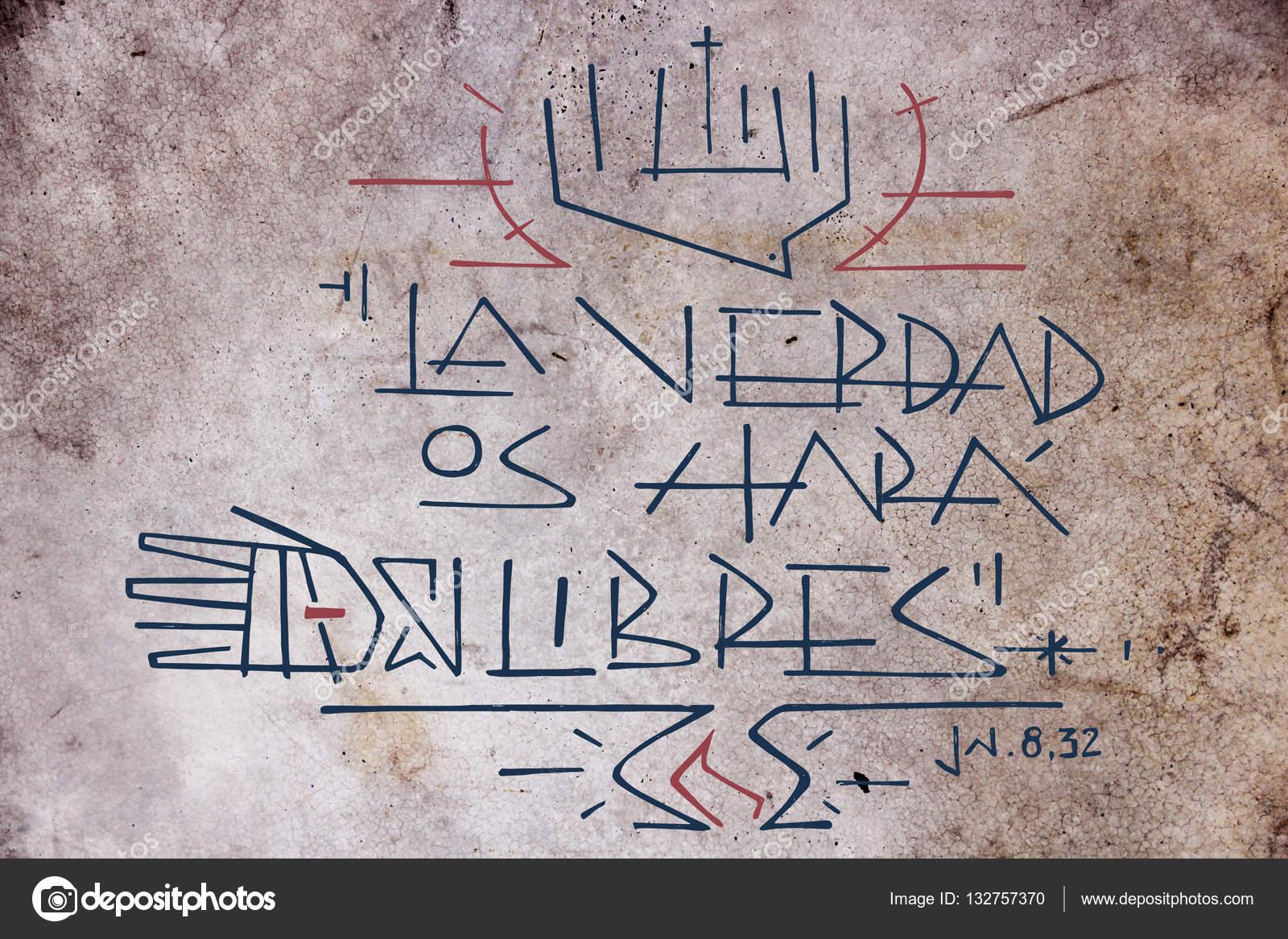 Frase De Cristo Jesús Foto De Stock Bernardojbp 132757370