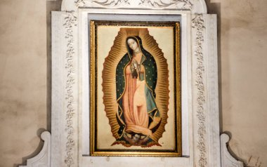 Our Lady of Guadalupe in Basilica de Guadalupe