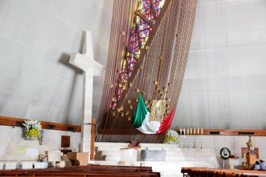Interior of Basilica de Guadalupe