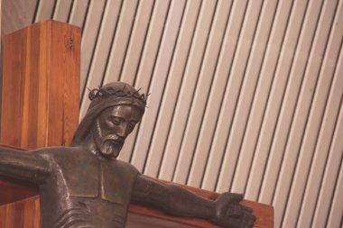 Jesus Christ in the interior of Basilica de Guadalupe
