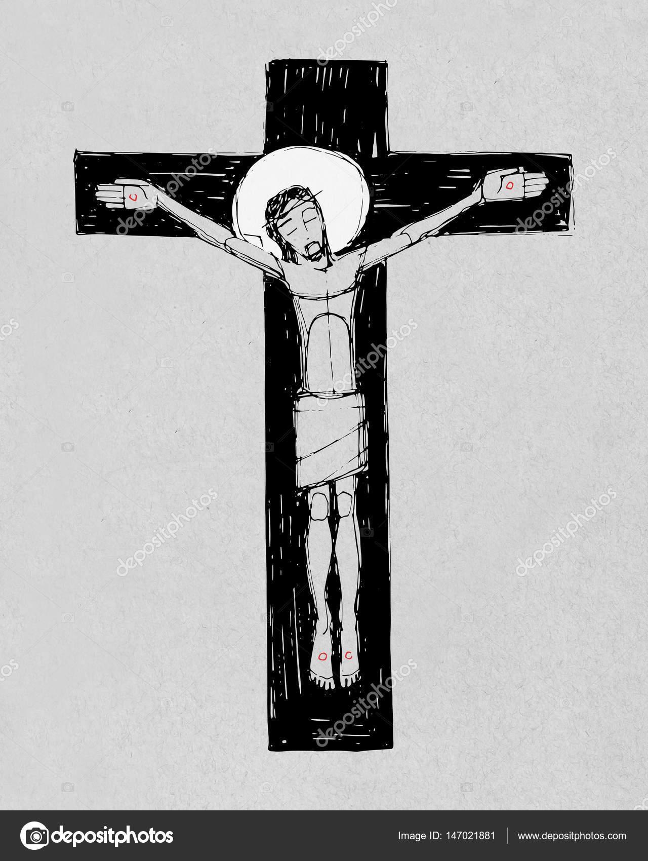 super desenho de jesus cristo na cruz gf98 ivango