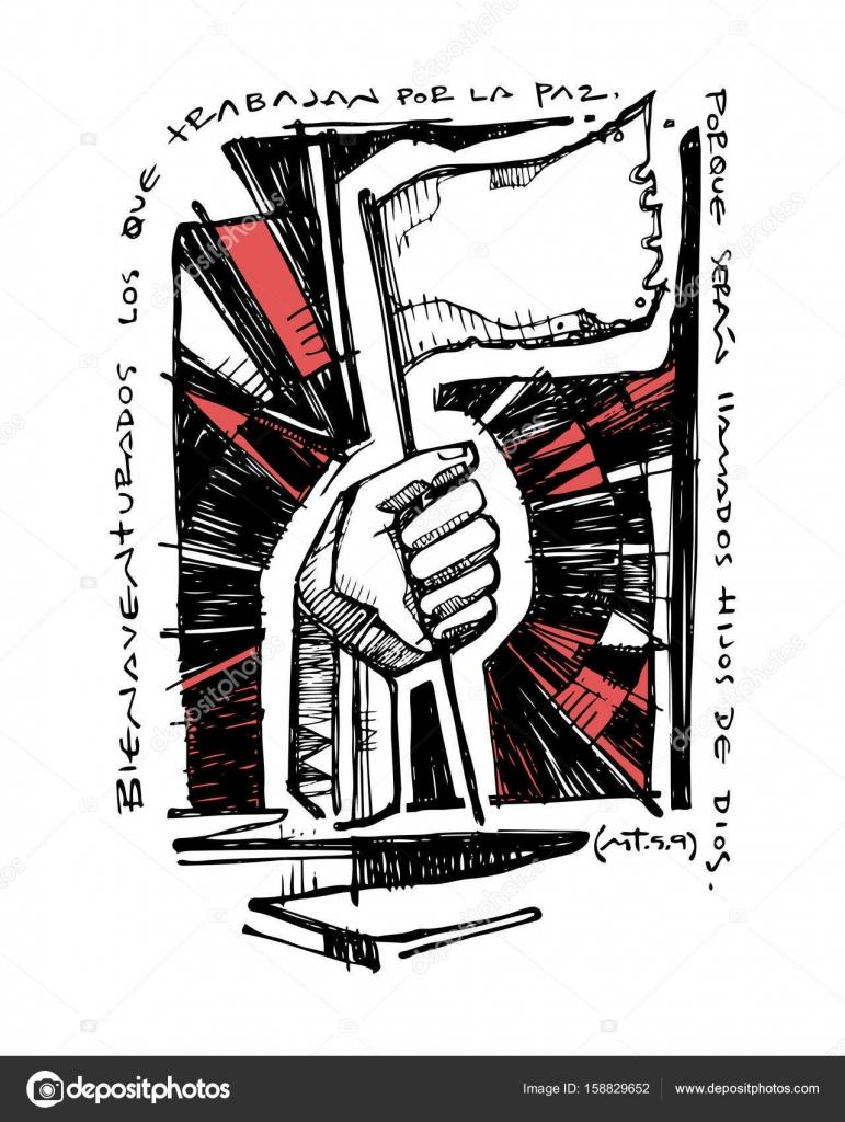 Imagenes Jesus Para Dibujar A Lapiz Faciles Ilustracion De Una