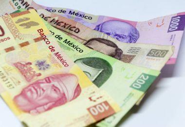 Mexican bills of diferent values