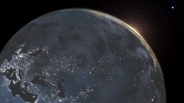 Highly Detailed D Render Using Satellite Imagery NASA Planet - Satellite footage