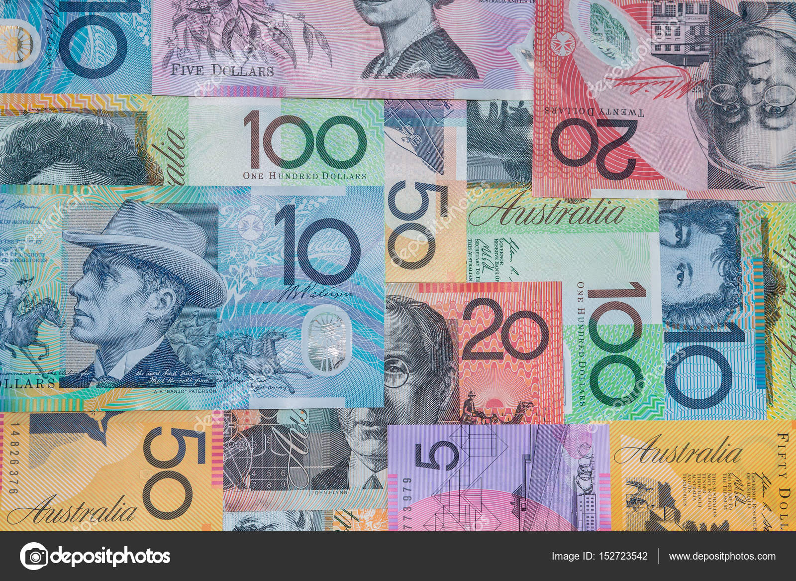 australischer dollar banknoten redaktionelles stockfoto pstedrak 152723542. Black Bedroom Furniture Sets. Home Design Ideas