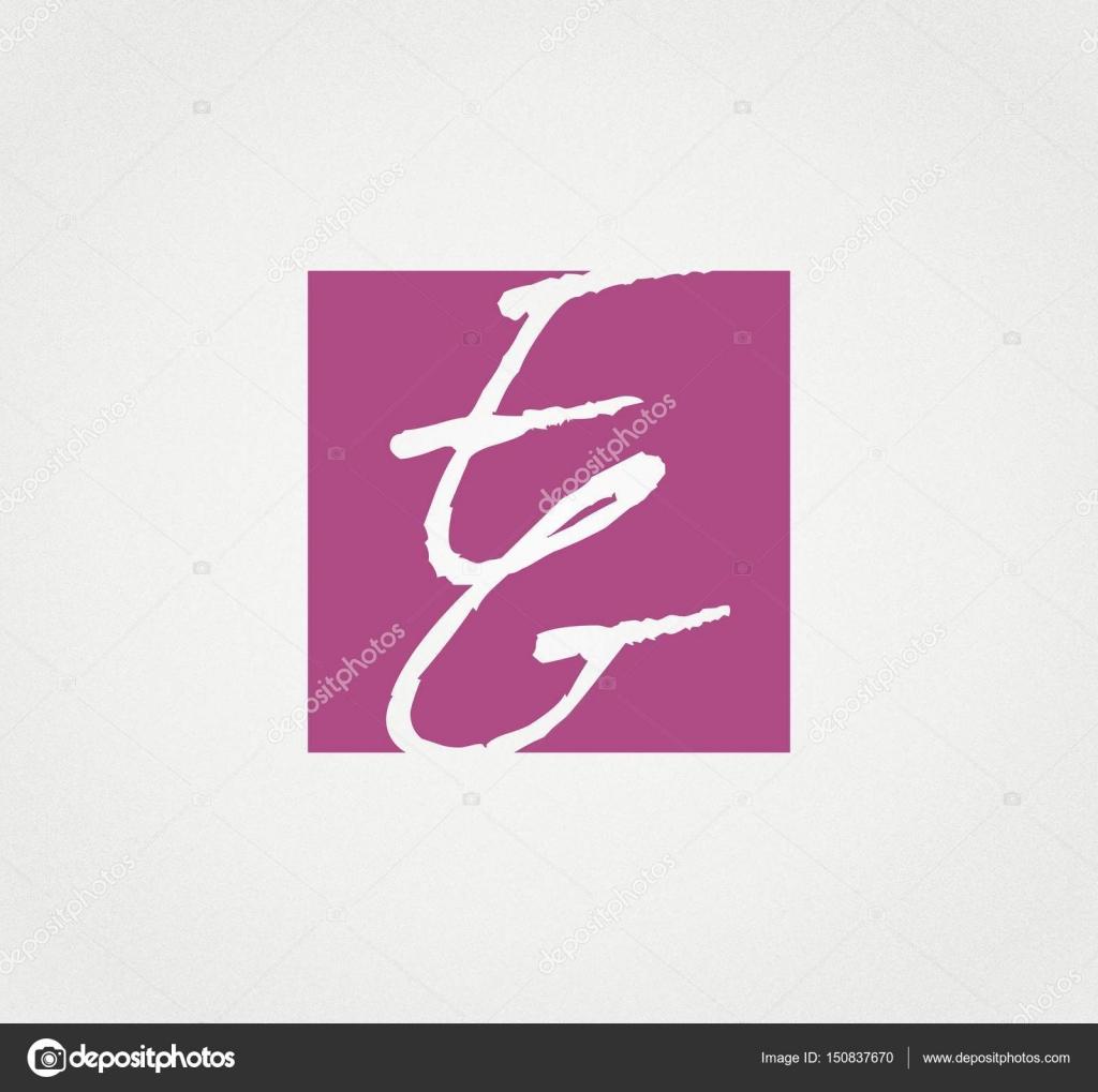 Abbreviation couple letter e g logo ink coat beauty salon abbreviation couple letter e g logo ink coat beauty salon sign weave merge sign white square purple vector by aspekt 13 thecheapjerseys Gallery