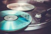 sbírku vinylových desek