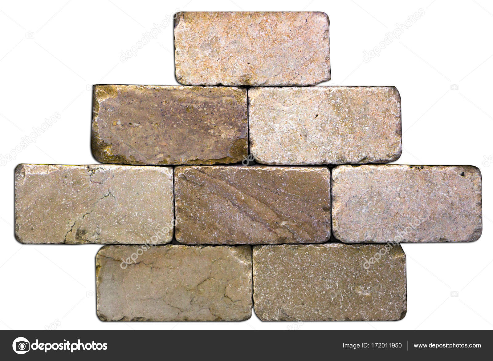Struttura senza giunte di mattonelle di marmo beige piastrelle