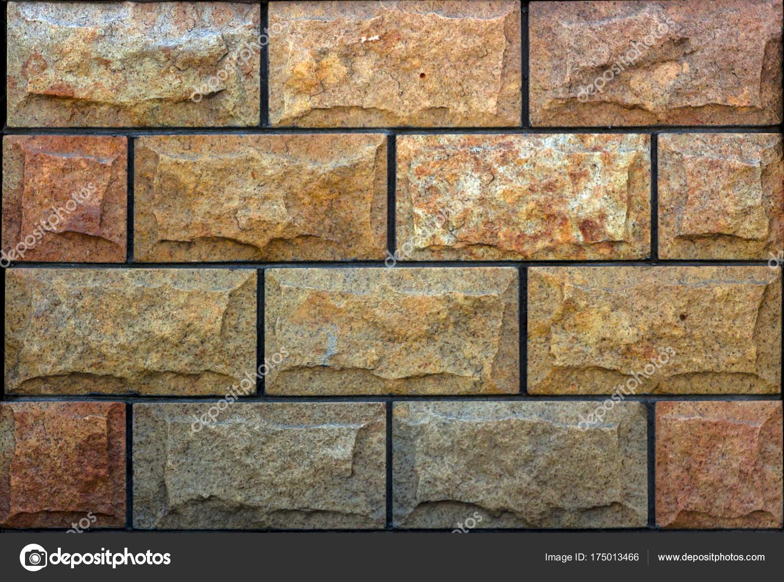 Struttura della parete di pietra travertino piastrelle