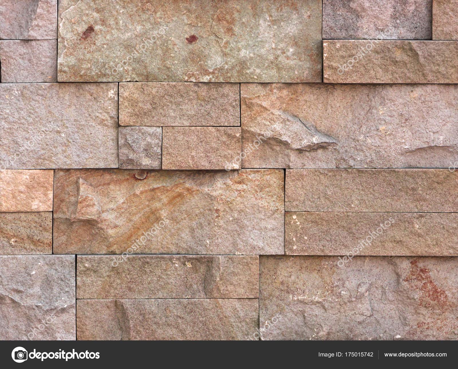 Struttura della parete di pietra travertino piastrelle rivestimento