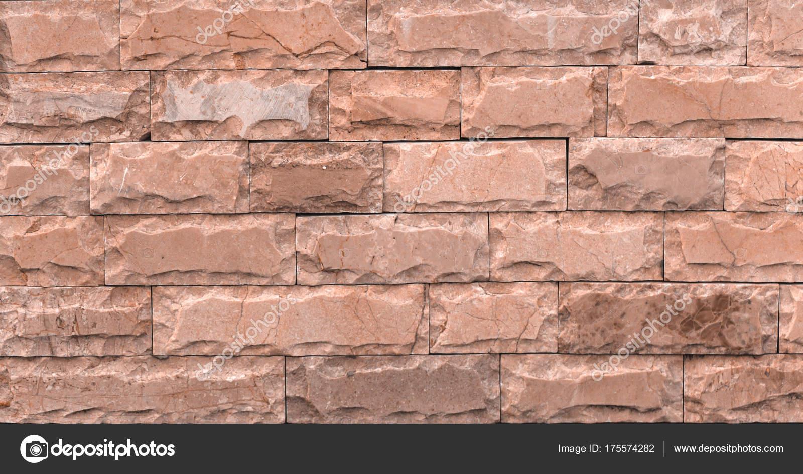 Marmor Textur Dekorativen Ziegel, Wand Fliesen Aus Naturstein. Granit.  Baumaterialien U2014 Foto Von Maykal
