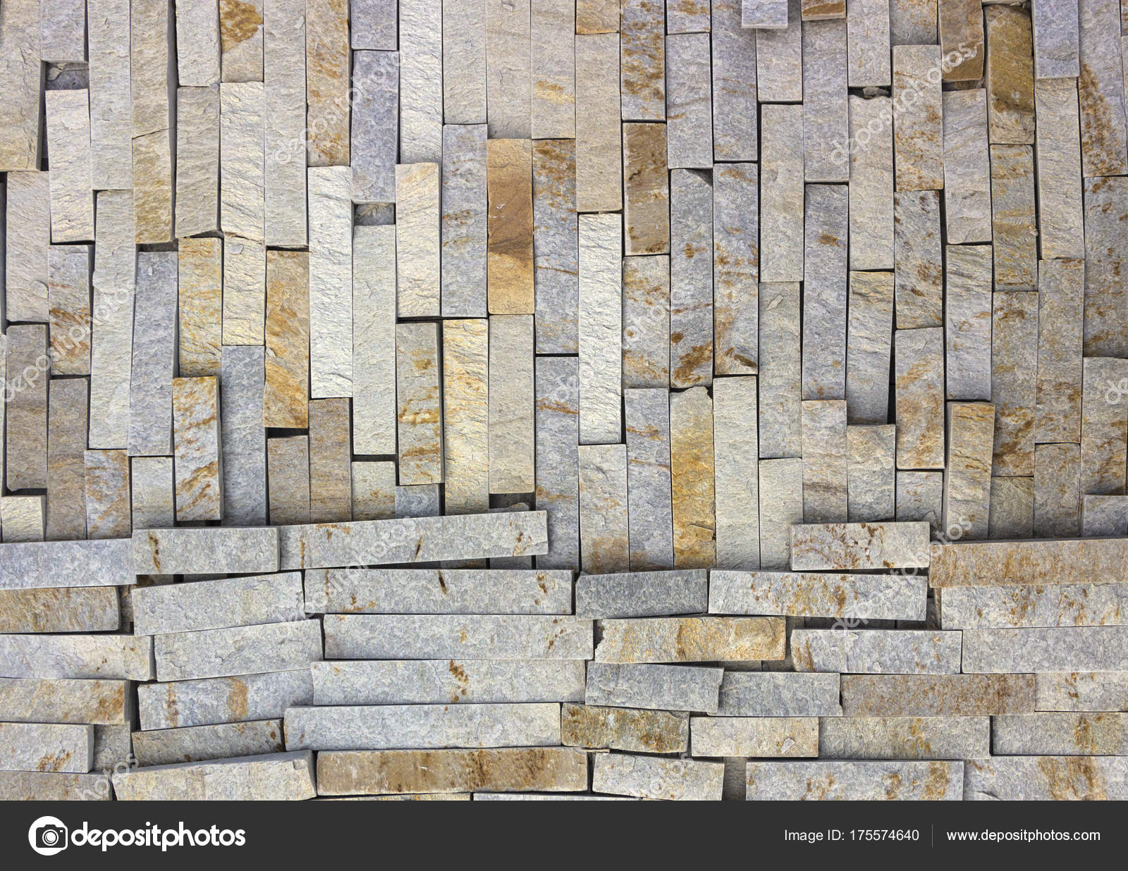 Marble Texture Decorative Brick, Wall Tiles Made Of Natural Stone. Building  Materials. U2014