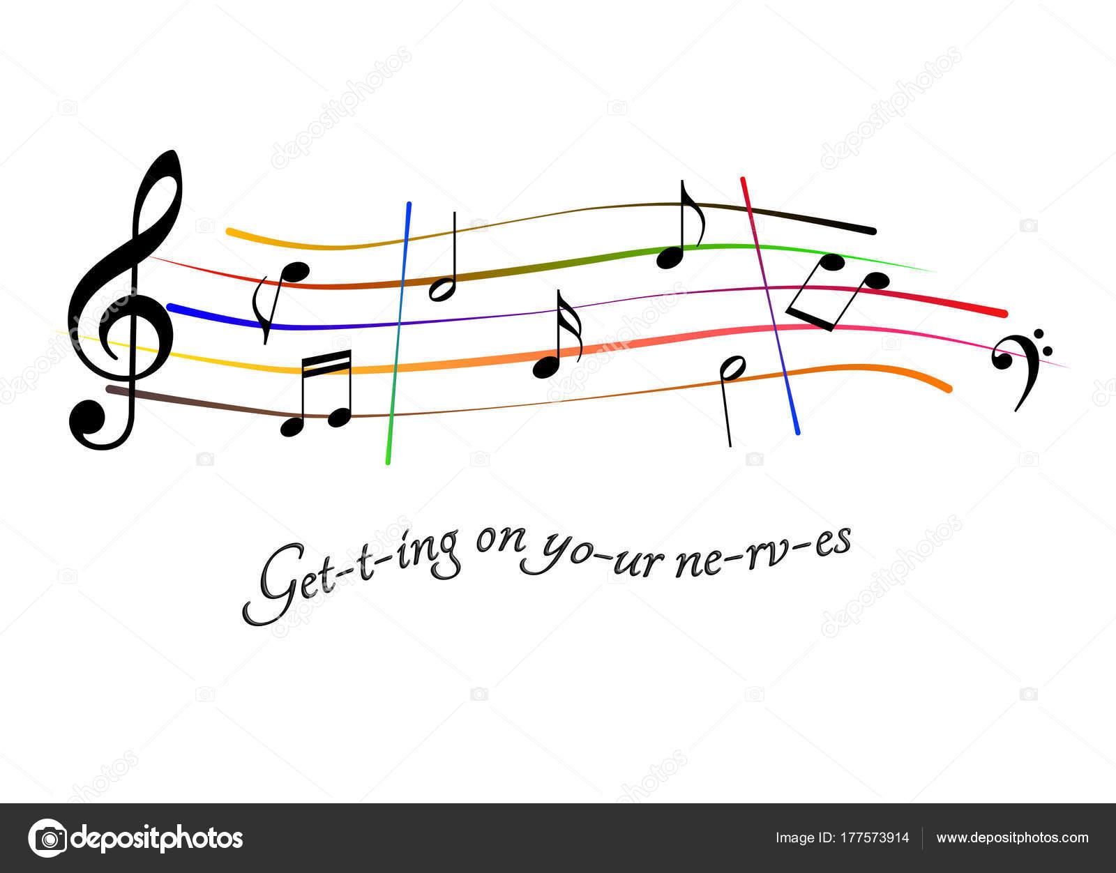 Musikalische Gäste erhalten auf die Nerven — Stockfoto © albasu ...