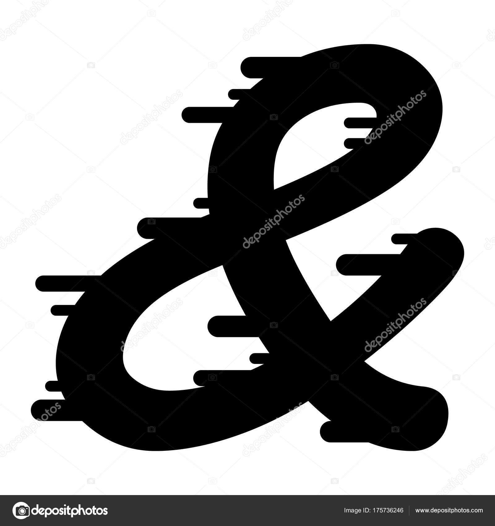 Symbol Dla Twojej Ilustracji Symbol Osiem Sylwetka Dodatkowe