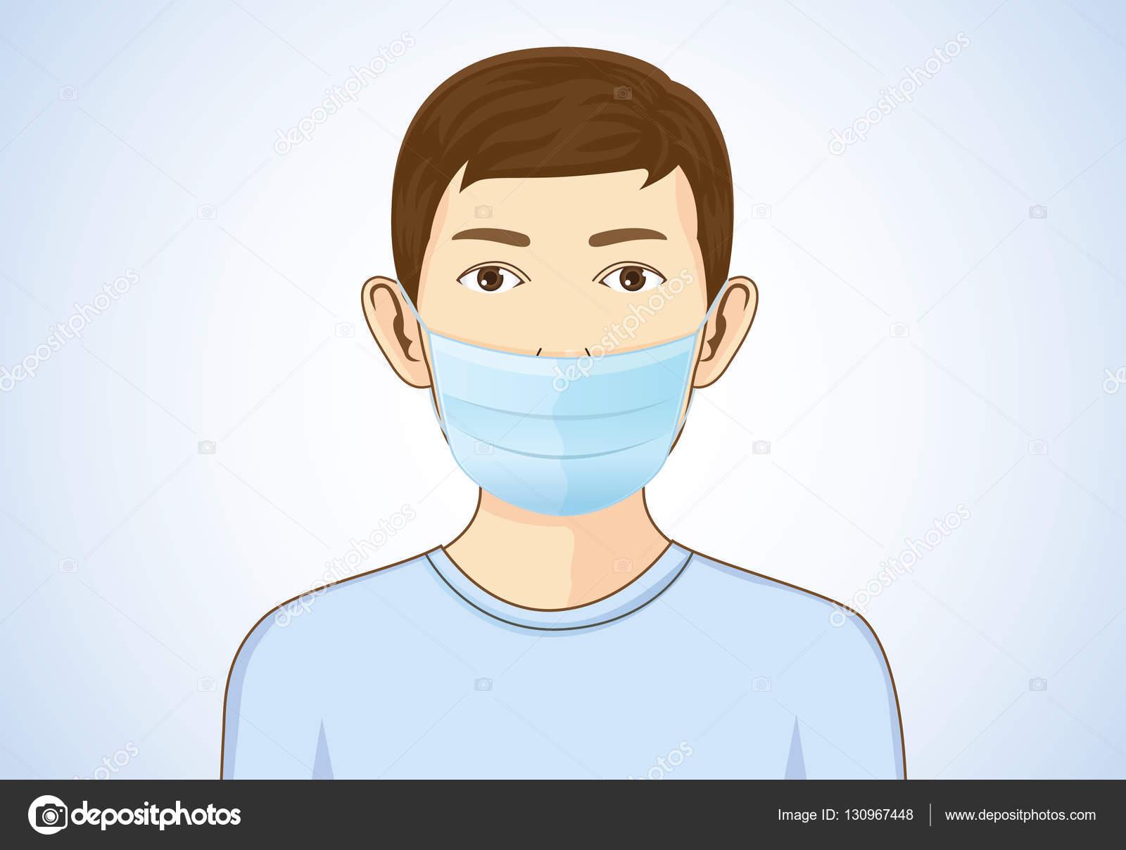Vector Pakai Masker - Masker Gambar PNG | File Vektor dan ...