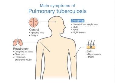 Main symptoms of Pulmonary Tuberculosis patient.