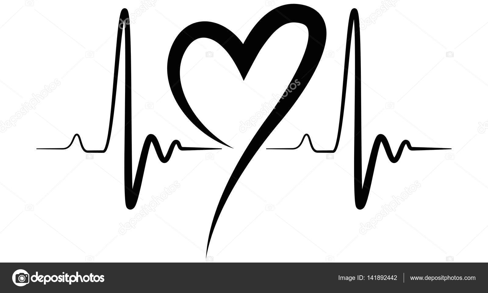 heart stethoscope clipart black and white download black