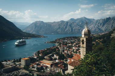 View on Kotor old city
