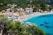 Fotografie Palaiokastritsa Dorf auf Korfu