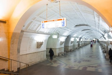 photos of the Moscow subway