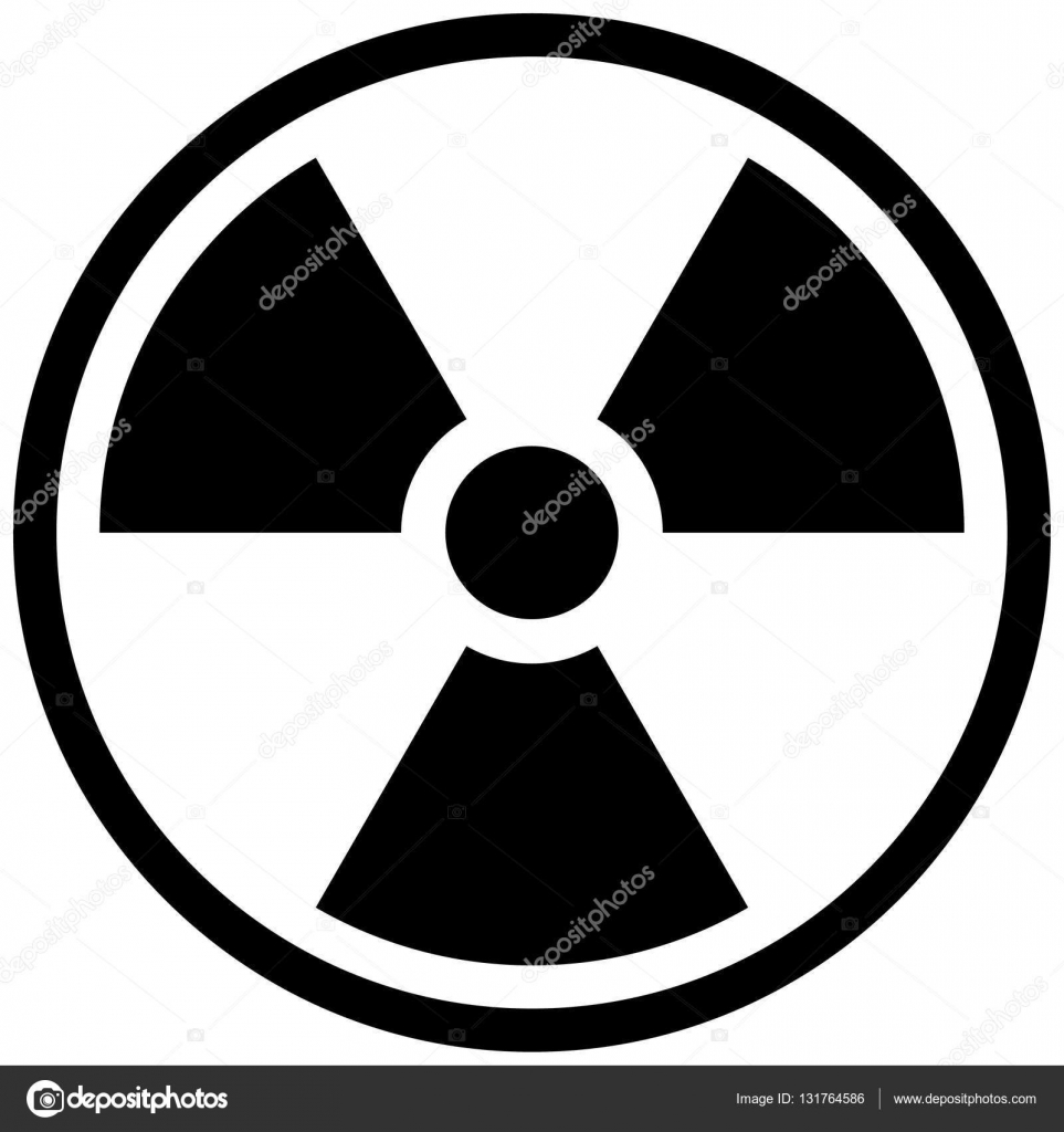 The Illustration Represents The Symbol Of Radiation Product Sign