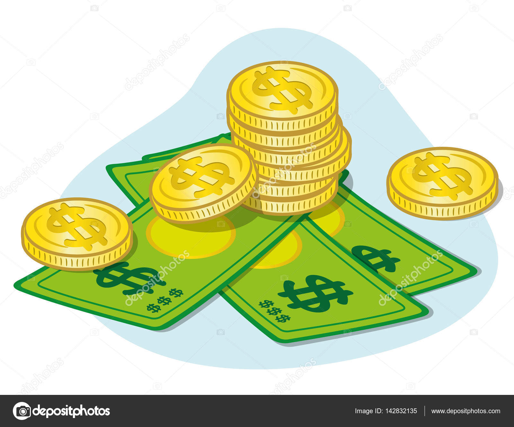 Imágenes Billetes Animados Cayendo 6755000 Ilustración Que