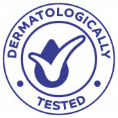 Icon illustration, dermatologically tested. Ideal for catalogs, cosmetics and institutional newsletters