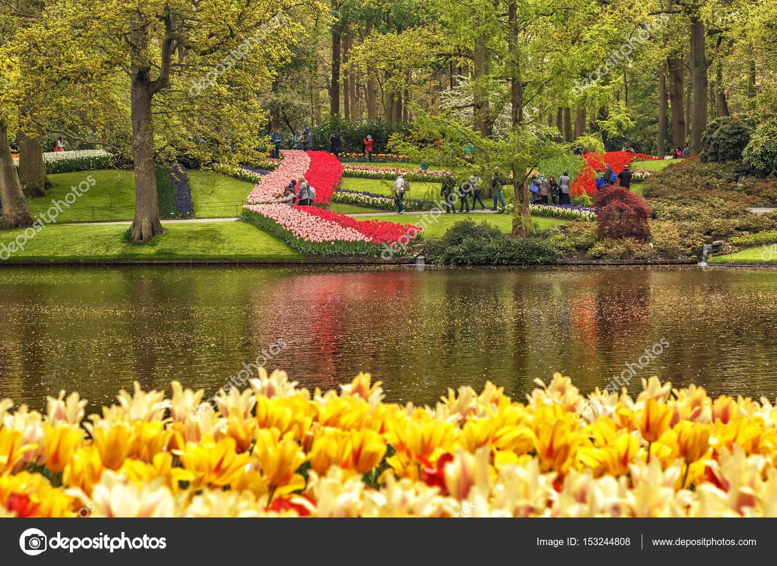 Keukenhof, Lisse, Netherlands, May 2017. – Stock Editorial Photo ...