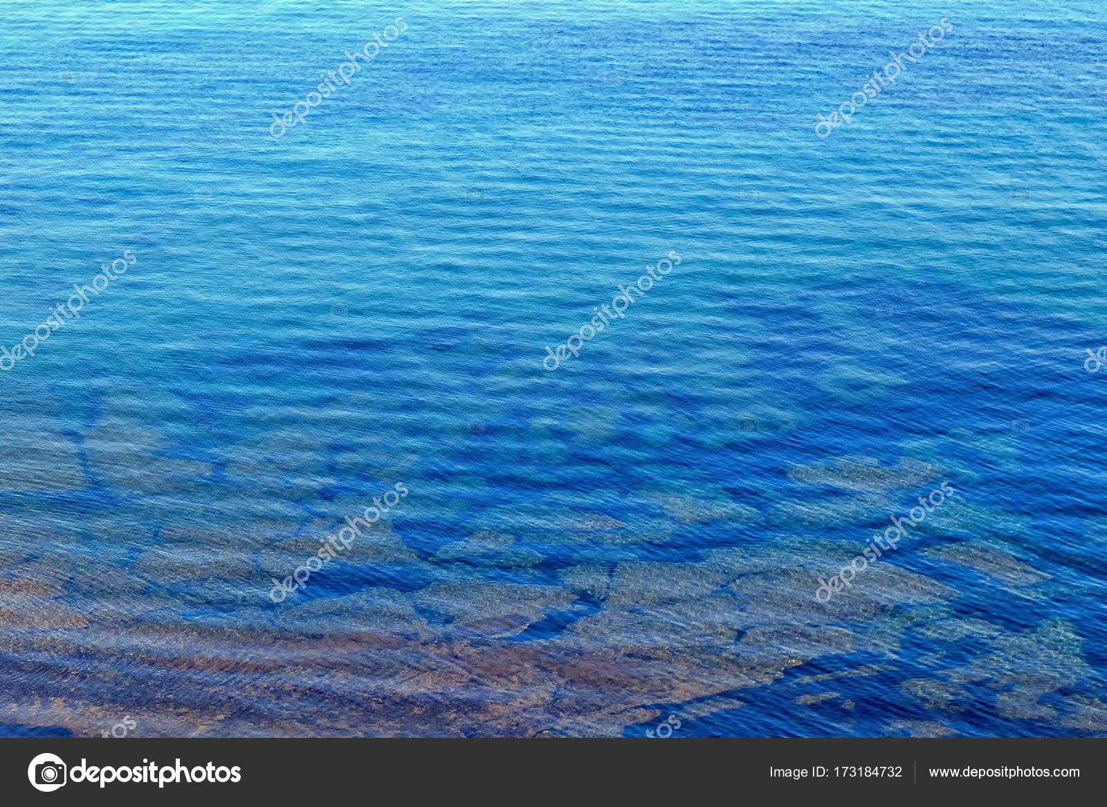 Sfondo Mare Azzurro Foto Stock Tbralnina 173184732