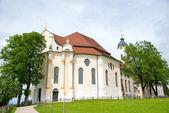 Fotografie Die berühmte Wallfahrt Kirche von Wies, Bayern, Deutschland