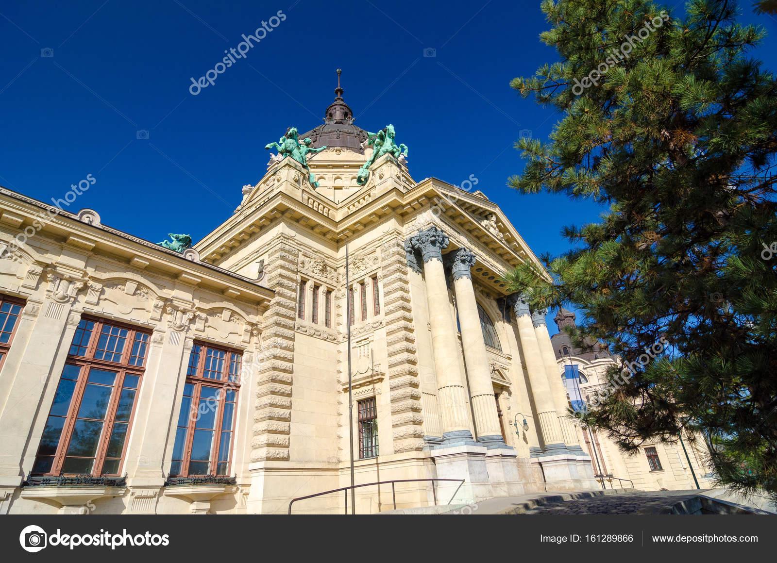 Bagni Termali Szechenyi : I bagni termali szechenyi famoso a budapest ungheria u foto