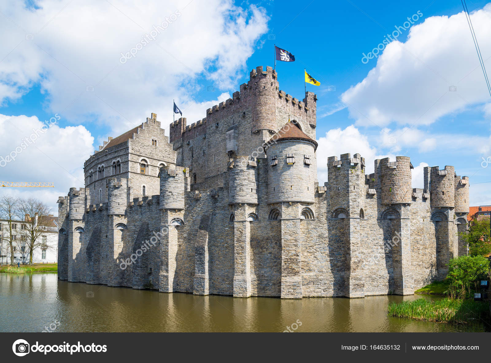 Castillo Medieval De Gravensteen Castillo De Los Condes De Gante
