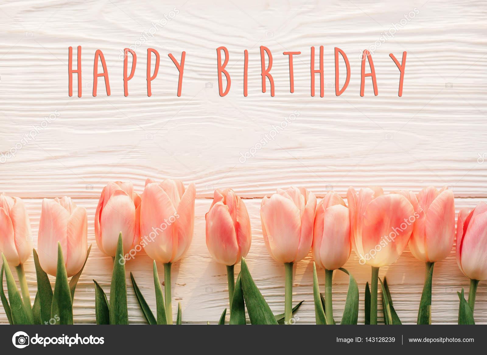 beautiful happy birthday flowers images