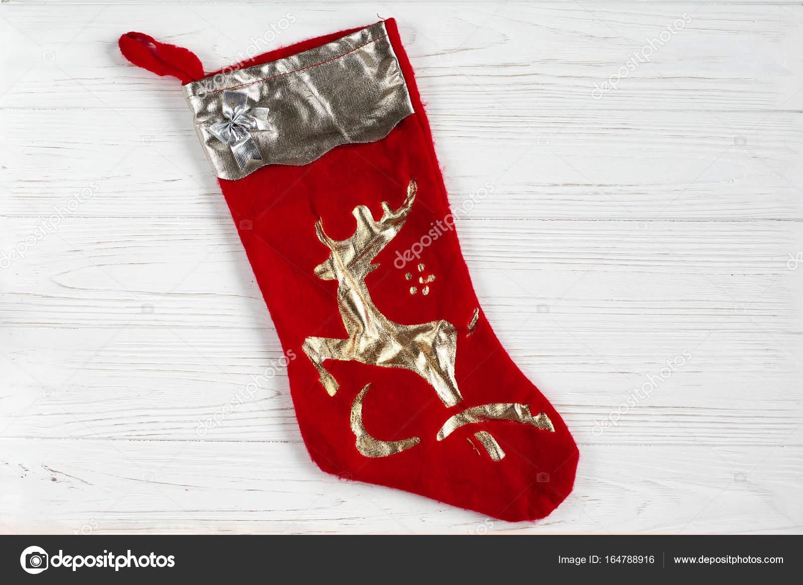 weihnachten rote socke — Stockfoto © Sonyachny #164788916