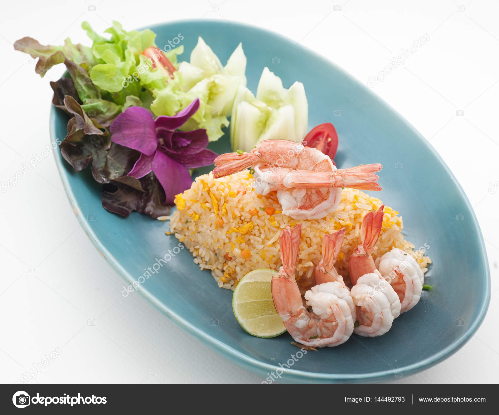Dishes of Thailand and China international cuisine in restaurant