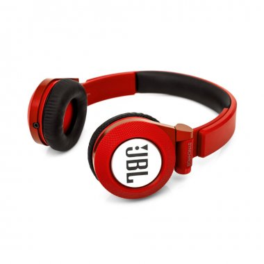 Minsk, Belarus - 1 Sep, 2017: JBL headphones isolated on white