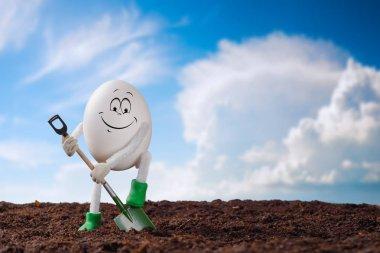 Small egg farmer