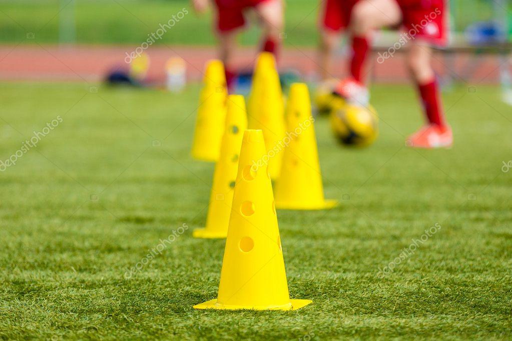 Fussball Fussball Ausrustung Training Fussballplatz