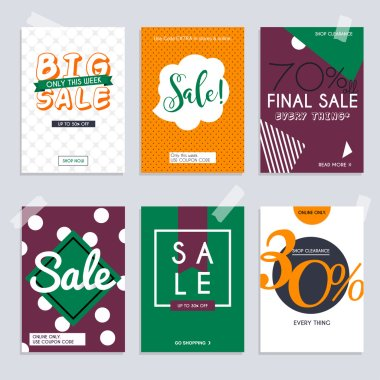 banners with discount offer