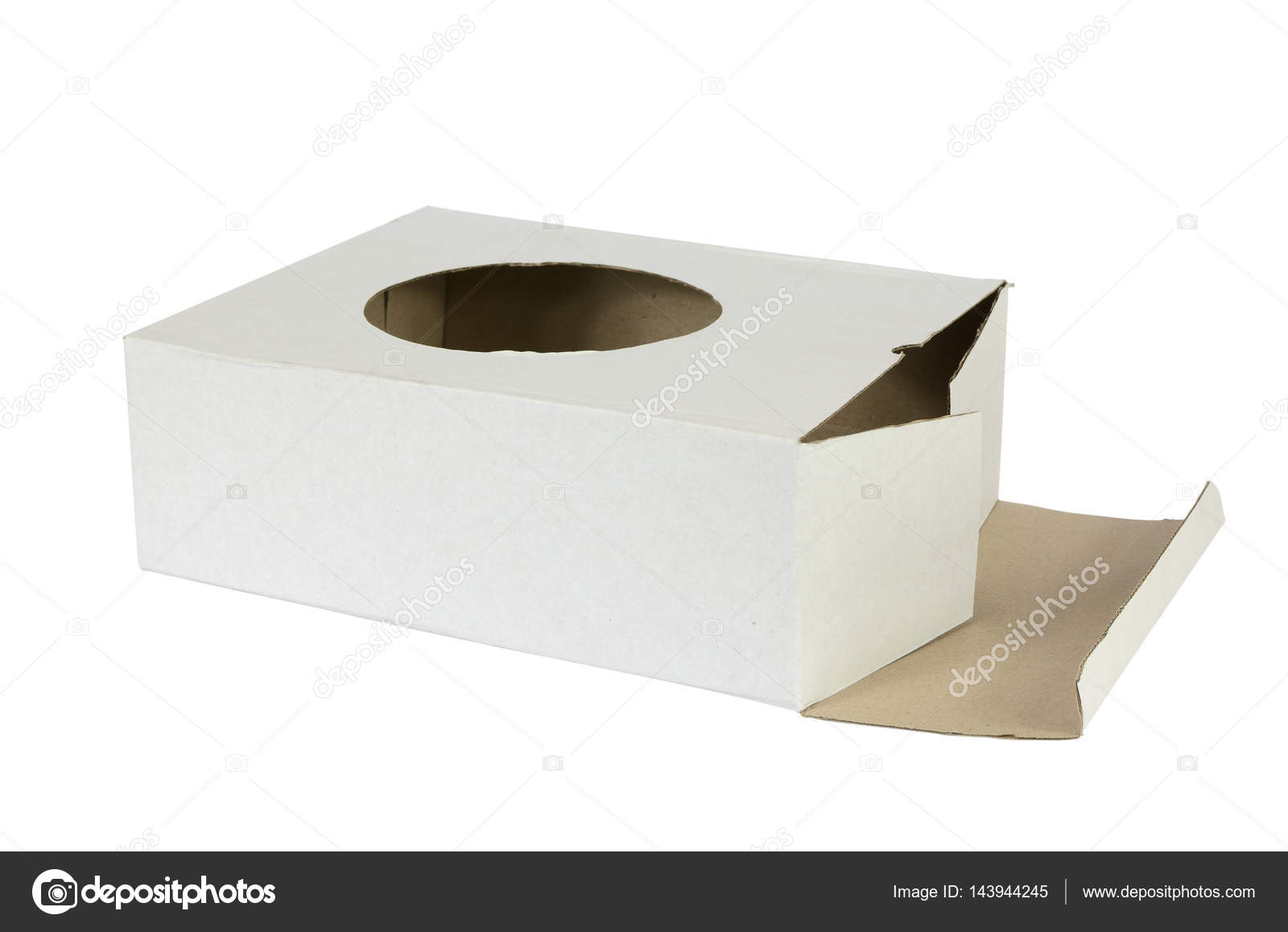 Image result for cardboard box with hole
